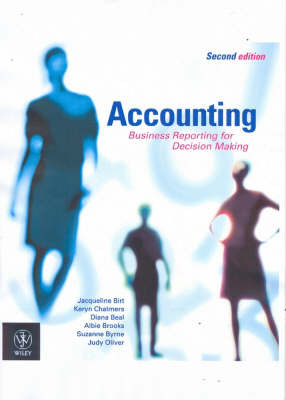 Accounting: Business Reporting for Decision Making by Jacqueline Birt image
