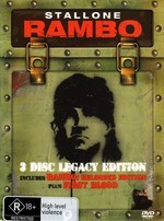 Rambo - 3 Disc Legacy Edition (First Blood / Rambo - Reloaded) (3 Disc Set) on DVD
