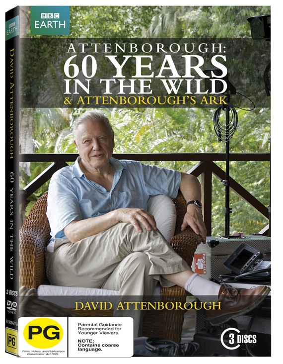 Attenborough: 60 Years in the Wild on DVD image
