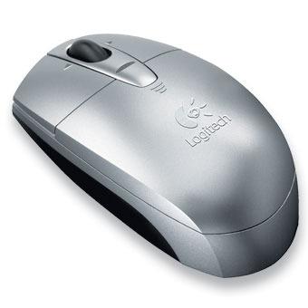 Logitech V200 Cordless Notebook Mouse (Silver)