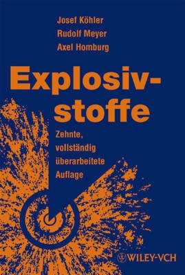 Explosivstoffe by Axel Homburg