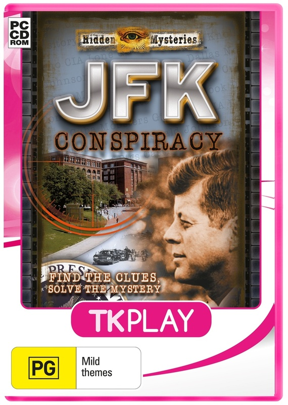 Hidden Mysteries JFK Conspiracy (TK play) for PC