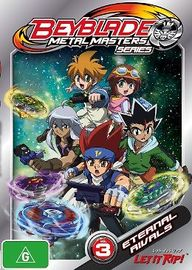 Beyblade: Metal Masters - Volume 3 on DVD