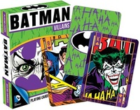 Batman: Villains Playing Cards