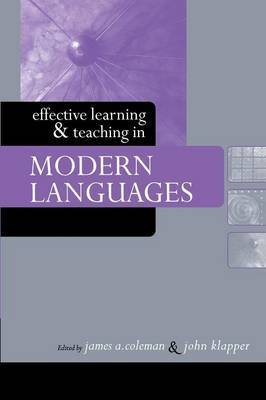 Effective Learning and Teaching in Modern Languages image