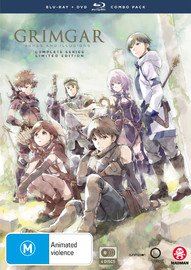 Grimgar, Ashes And Illusions - Complete Series (Limited Edition DVD/Blu-ray Combo) on DVD, Blu-ray
