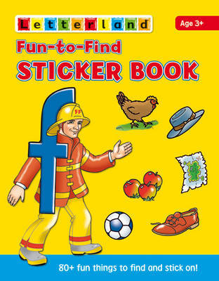 Fun to Find Sticker Book by Lyn Wendon