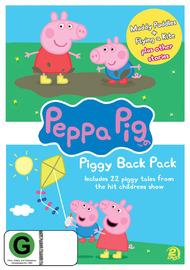 Peppa Pig: Piggy Back Pack Collection 1 (2 Disc Set) DVD