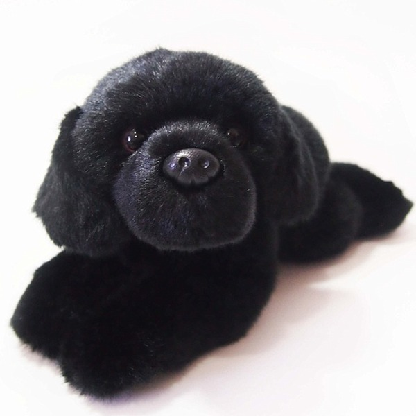 Dog: Midnight Black Labrador 25Cm