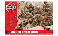 Airfix 1:72 WWII British Infantry Scale Model Kit