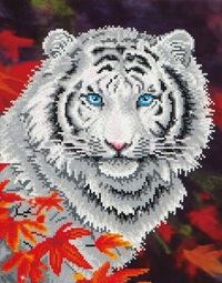 Diamond Dotz: Facet Art Kit - White Tiger in Autumn