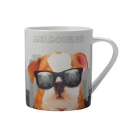 Christopher Vine The Mob International Cities Mug - Melbourne (370ml)
