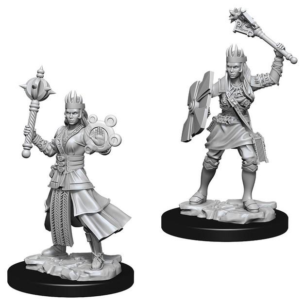 D&D Nolzur's Marvelous: Unpainted Miniatures - Female Human Cleric
