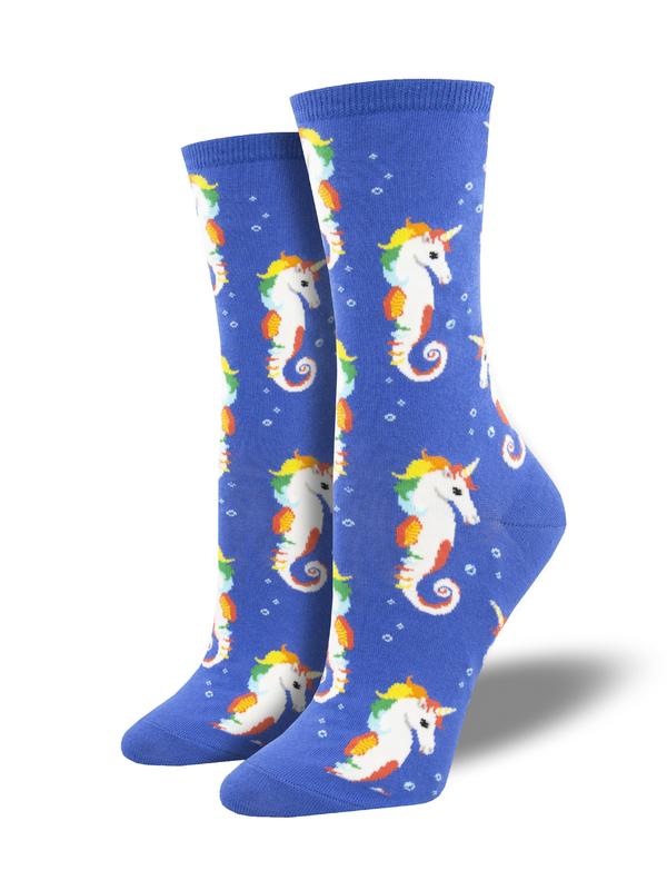 Socksmith: Sea Unicorn - Blue
