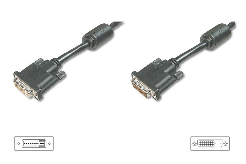 Digitus DVI-D Extension Cable - 2M image