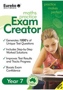 Eureka Practice Exam Creator - Year 7 for PC