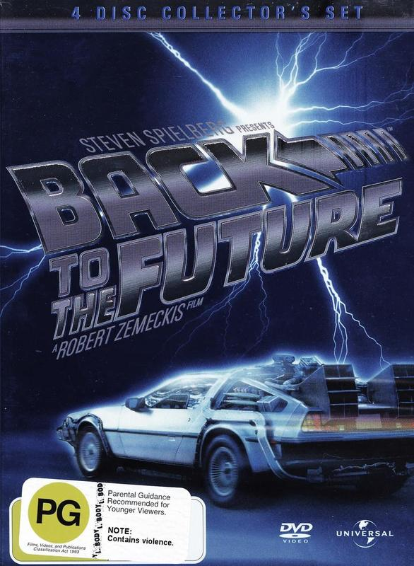 Back To The Future Trilogy - Collector's Edition (4 Disc Box Set) on DVD