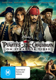 Pirates of the Caribbean: On Stranger Tides on DVD