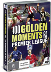100 Golden Moments Of The Premier League on DVD