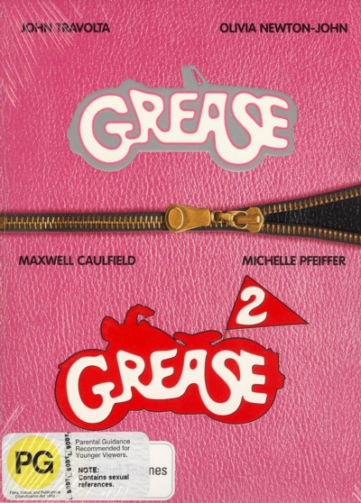 Grease / Grease 2 (2 Disc Set) on DVD image