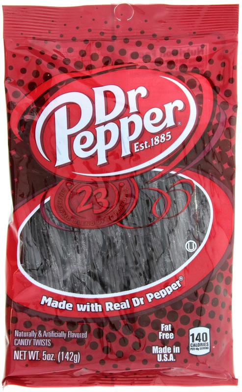 """Dr. Pepper 5"""" Twists (142g)"""