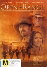 Open Range on DVD image