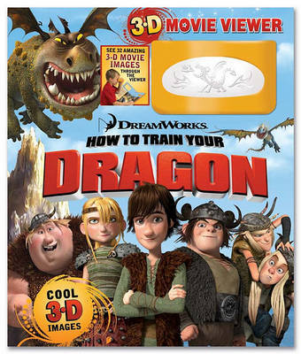 How to Train Your Dragon Storybook and 3D Viewer by Reader's Digest
