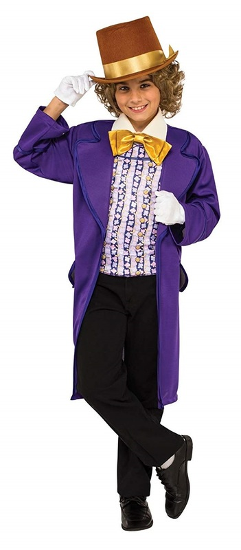Willy Wonka - Deluxe Costume (Small)