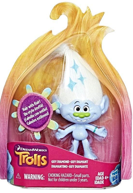 "DreamWorks Trolls: Guy Diamond - 5"" Collectible Figure image"