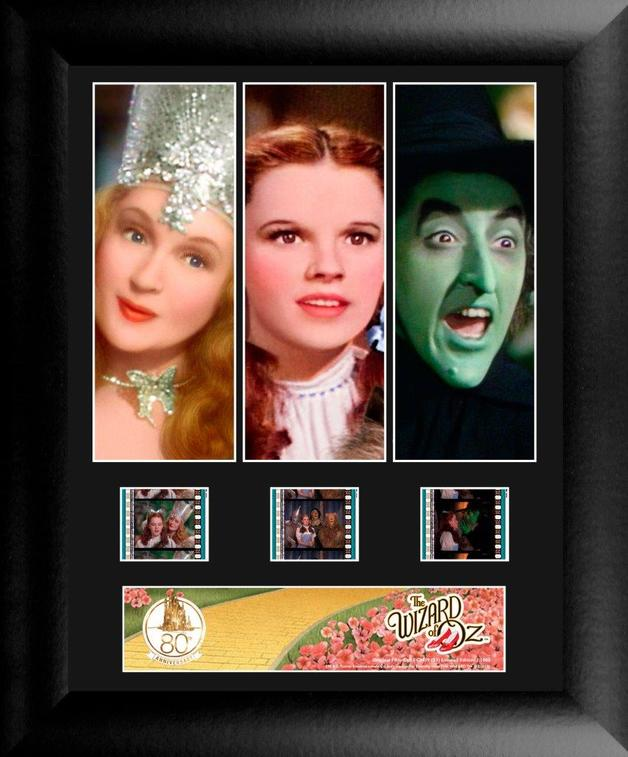 FilmCells: Triple-Cell Frame - Wizard of Oz (80th Anniversary)