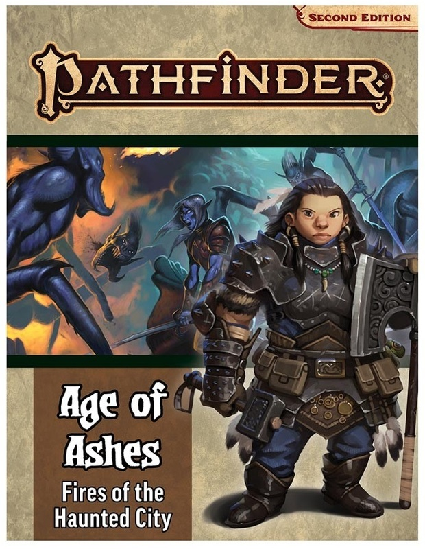 Pathfinder Adventure Path: Fires of the Haunted City (Age of Ashes 4 of 6) [P2] by Linda Zayas-Palmer