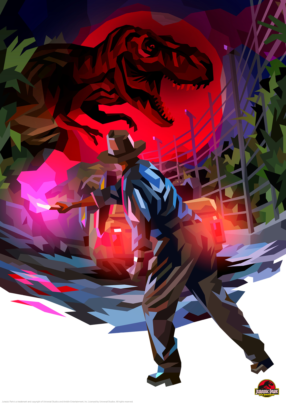 Jurassic Park: Premium Art Print - Park Life image