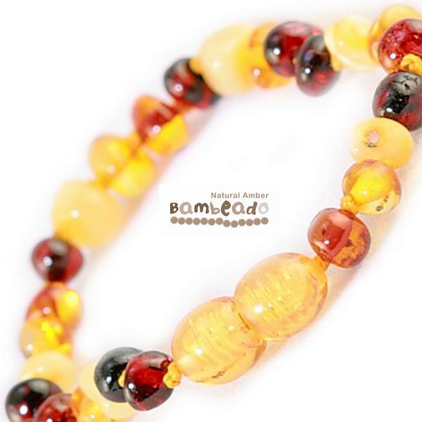 Bambeado Amber Bracelet Baby Bud - Mixed