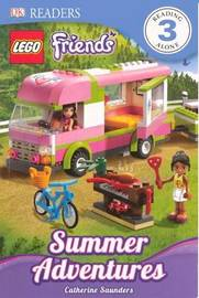 Lego Friends: Summer Adventures by Catherine Saunders