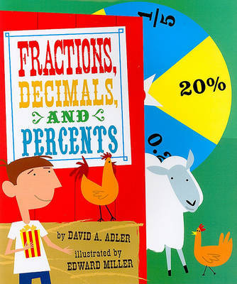 Fractions, Decimals, and Percents by David A Adler image