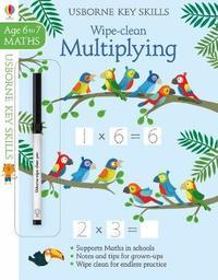 Wipe-Clean Multiplying 6-7 by Holly Bathie