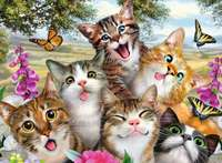 Ravensburger: Friendly Felines - 200pc Puzzle