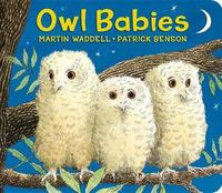 Owl Babies Lap-Size Board Book by Martin Waddell image