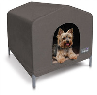 Kazoo: Cabana Outdoor Dog House - Cobalt (Large)