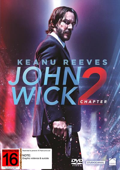 John Wick: Chapter 2 on DVD