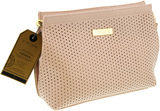 MOR Destination Luxe Vienna Cosmetic Clutch (Ballet Pink Pinpoint)