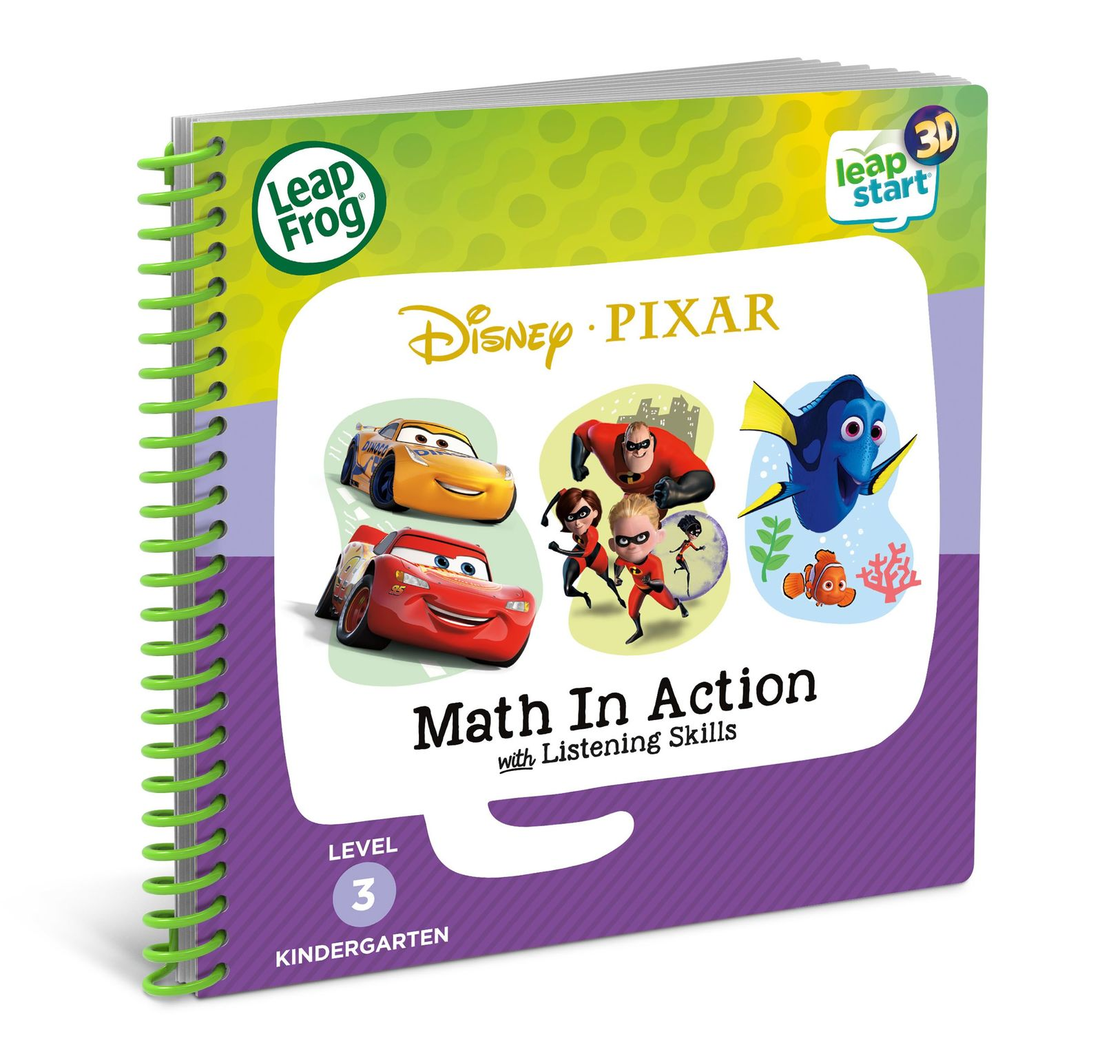 Leapstart 3D: Disney Pixar - Math In Action With Listening Skills (Level 3) image