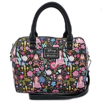 Loungefly: Beauty and the Beast - Print Duffle Bag