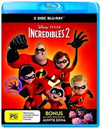 Incredibles 2 on Blu-ray