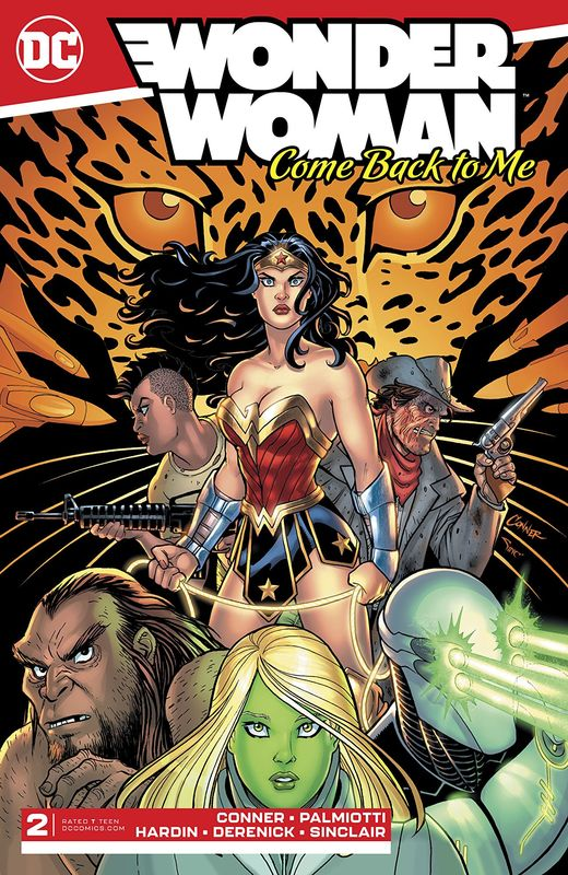 Wonder Woman: Come Back To Me - #2 (Cover A) by Amanda Conner