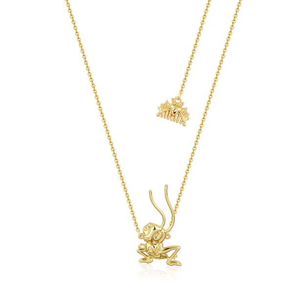 Couture Kingdom: Disney Mulan Cri-Kee Necklace Yellow Gold