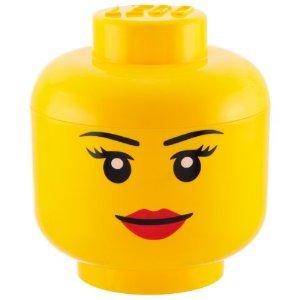 LEGO: Storage Small Head - Girl image