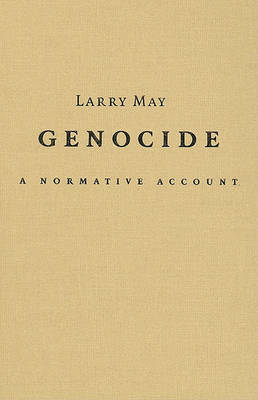 Genocide by Larry May