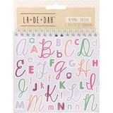 La De Dah: Alphabet Sticker Book