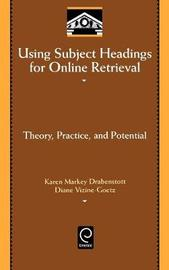 Using Subject Headings for Online Retrieval by Karen Markey Drabenstott image
